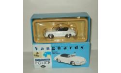 Порше Porsche 356 Police Polizei Corgi Vanguards 1:43