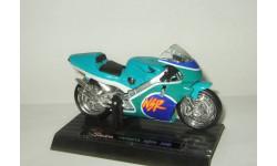 мотоцикл Хонда Honda NSR 500 1989 Saico 1:18 БЕСПЛАТНАЯ доставка