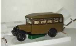 автобус Газ 03-30 1933 Хаки СССР НАП Наш Автопром 1:43