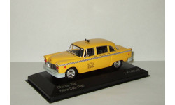 Checker Taxi Cab 1980 Такси Нью Йорк Whitebox 1:43, масштабная модель, 1/43
