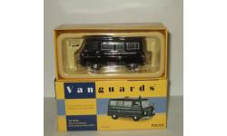 Morris J2 Minibus Metropolitan Police Полиция Corgi Vanguards 1:43 VA10605, масштабная модель, 1/43