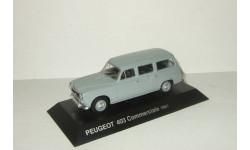 Пежо Peugeot 403 Commerciale 1961 IXO Altaya 1:43, масштабная модель, 1/43