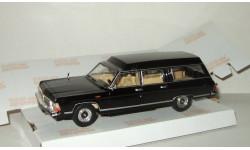 Газ 14 Чайка Раф 3920 скорая помощь Черная 1983 СССР НАП Наш Автопром 1:43, масштабная модель, scale43
