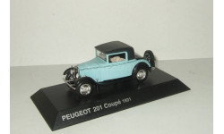 Пежо Peugeot 201 Coupe 1931 IXO Altaya 1:43, масштабная модель, 1/43
