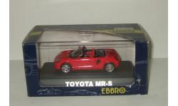 Тойота Toyota MR-S 1999 Ebbro 1:43, масштабная модель, 1/43