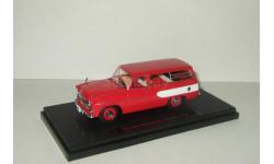 Тойота Toyota Toyopet Masterline Light Van универсал 1959 Red/white Ebbro 1:43 44340, масштабная модель, 1/43