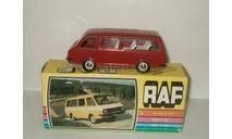 микро автобус Раф 2203 Красный постномерная сделано в СССР Агат Тантал Радон 1:43, масштабная модель, 1/43, Агат/Моссар/Тантал