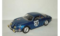 Рено Renault Alpine A110 1965 № 28 Bburago 1:24, масштабная модель, scale24