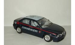 Альфа Ромео Alfa Romeo 156 1998 Carabineri Police Bburago Made in Italy 1:24, масштабная модель, 1/24