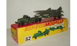Зил 157 + полуприцеп Ракета ТЗМ ПР11 1959 СССР Сделано в ГДР Espewe Modelle 1:87 БЕСПЛАТНАЯ доставка