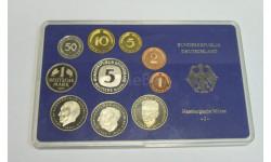 Набор Юбилейный 10 монеты Марки Германия ФРГ ЕС Евросоюз 2001 год Bundesrepublik Deutschland, масштабные модели (другое)