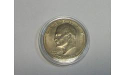 Монета One Dollar USA Один 1 Доллар США Юбилейный 1776 - 1976, масштабные модели (другое)