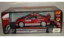 Пежо Peugeot 307 WRC Maisto 1 18, масштабная модель, 1:18, 1/18