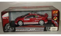 Пежо Peugeot 307 WRC Maisto 1 18