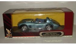 Шевроле Chevrolet Corvette Grand Sport Road Signature 1 18, масштабная модель, 1:18, 1/18