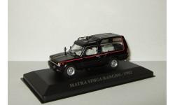Матра Talbot Matra Simca Rancho 1982 Черная IXO Altaya 1:43, масштабная модель, scale43