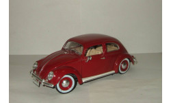 Фольксваген VW Volkswagen Beetle Kafer Bburago 1:18, масштабная модель, 1/18
