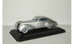 Delage D8 120 S Pourtout Aero Coupe 1938 IXO Museum Altaya 1:43, масштабная модель, scale43