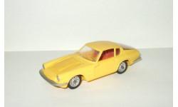 Мазерати Maserati Mistral Coupe 1968 Желтый Ремейк сделано в СССР 1:43, масштабная модель, scale43