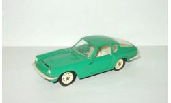 Мазерати Maserati Mistral Coupe 1968 Зеленый Металл Ремейк сделано в СССР 1:43, масштабная модель, scale43