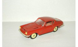 Мазерати Maserati Mistral Coupe 1968 Темно Красный Металл Ремейк сделано в СССР 1:43, масштабная модель, scale43
