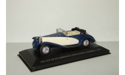 Delage D8 SS Cabriolet Fernandez & Darrin 1932 Altaya 1:43, масштабная модель, scale43