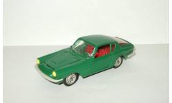Мазерати Maserati Mistral Coupe 1968 Темно Зеленый Металл Ремейк сделано в СССР 1:43, масштабная модель, scale43