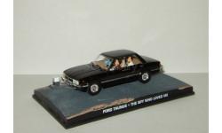 Форд Ford Taunus + фигурки серия Джеймс Бонд 'The Spy Who loved me' Universal Hobbies 1:43, масштабная модель, scale43