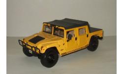 Хаммер Hummer H1 4x4 Желтый Maisto 1:18, масштабная модель, 1/18, Maisto-Swarovski