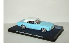 Форд Ford Mustang + фигурки серия Джеймс Бонд Агент 007 'Thunderball' Universal Hobbies 1:43, масштабная модель, 1/43