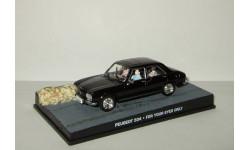 Пежо Peugeot 504 + фигурки серия Джеймс Бонд Агент 007 'For your eyes only' Universal Hobbies 1:43, масштабная модель, scale43