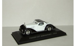 Voisin C27 Aerosport 1934 IXO Museum Altaya 1:43, масштабная модель, scale43