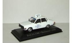Dacia 1300 (копия Рено Renault 12) Taxi Bucharest 1980 Такси Румыния Altaya 1:43, масштабная модель, scale43