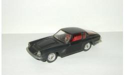 Мазерати Maserati Mistral Coupe 1968 Черный Ремейк сделано в СССР 1:43, масштабная модель, scale43