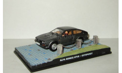 Альфа Ромео Alfa Romeo GTV6 + фигурки серия Джеймс Бонд Агент 007 'Octopussy' Universal Hobbies 1:43, масштабная модель, scale43