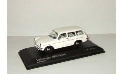 Фольксваген Volkswagen 1600 Variant 1966 Minichamps 1 43, масштабная модель, 1:43, 1/43