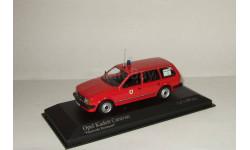 Опель Opel Kadett Caravan Feuerwehr Dortmund 1979 Minichamps 1 43