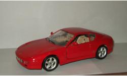 Феррари Ferrari 456 GT 1992 Bburago 1:18, масштабная модель, scale18