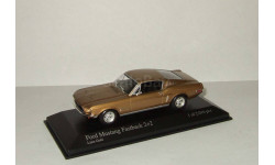 Форд Ford Mustang Fastback 2 + 2 1968 Minichamps 1 43