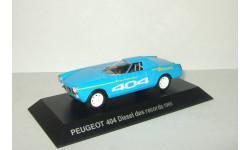 Пежо Peugeot 404 Diesel des records 1965 IXO Altaya 1:43, масштабная модель, 1/43
