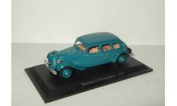 Ситроен Citroen Traction 11 B Limousine 1937 Altaya 1:43, масштабная модель, 1/43, Citroën