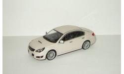 Субару Subaru Legacy B4 2009 Kyosho Белый Перламутр J-Collection 1:43, масштабная модель, scale43