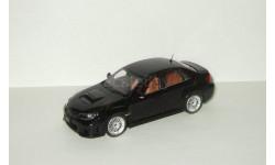 Субару Subaru Impreza WRX STI A-Line 4dr 2010 Черный Ebbro 1:43 44399, масштабная модель, 1/43