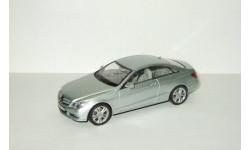 Мерседес Бенц Mercedes Benz E klasse W212 Coupe Серебристый металлик Schuco 1:43 Limited Edition