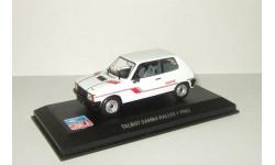 Talbot Samba Rallye 1983 Altaya 1:43, масштабная модель, 1/43, Ford