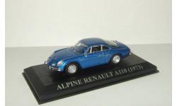Рено Renault Alpine A110 1973 Altaya 1:43, масштабная модель, 1/43