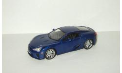 Лексус Lexus LFA 2011 IXO Суперкары 1:43, масштабная модель, Суперкары. Лучшие автомобили мира, журнал от DeAgostini, scale43