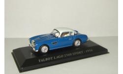 Talbot Lago 2500 Sport 1956 Altaya 1:43, масштабная модель, 1/43, Talbot-Lago
