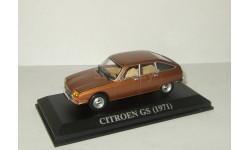 Ситроен Citroen GS 1971 Altaya 1:43, масштабная модель, 1/43, Citroën