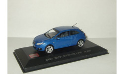 Сеат Seat Ibiza Sportcoupe 2008 Altaya 1:43, масштабная модель, 1/43